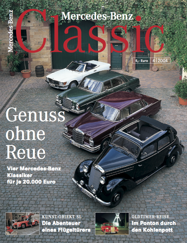 mercedes benz classic magazin 2004 4 deutsch mercedes. Black Bedroom Furniture Sets. Home Design Ideas