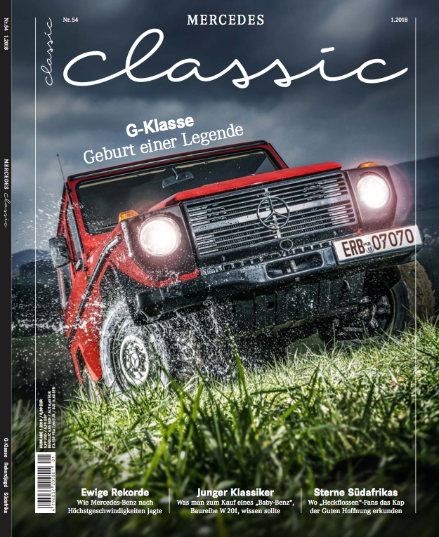 mercedes-benz classic magazin 2018/1 (deutsch) | mercedes-benz