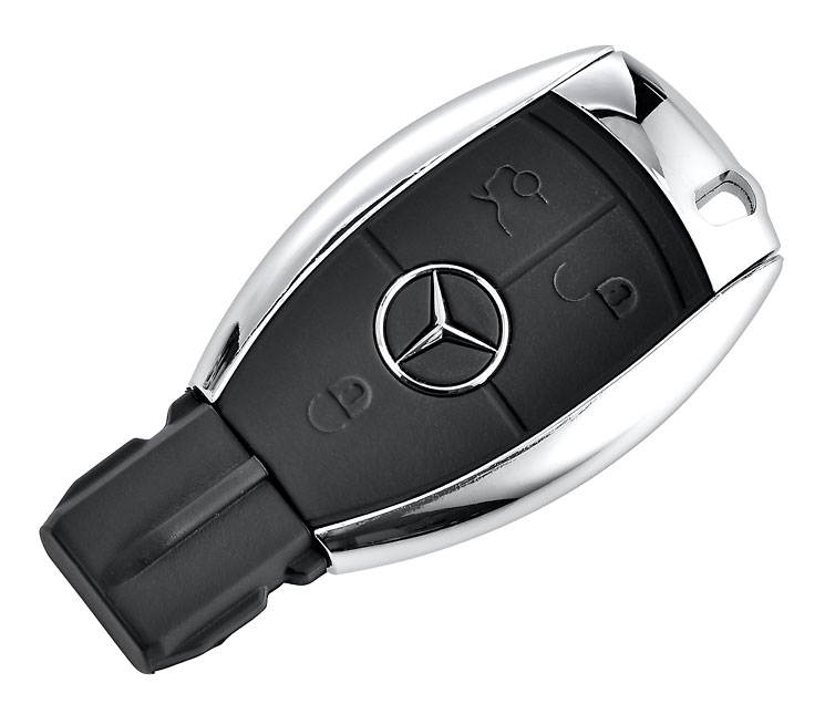 Usb Stick Key 16gb Schwarz Mercedes Benz Classic Store