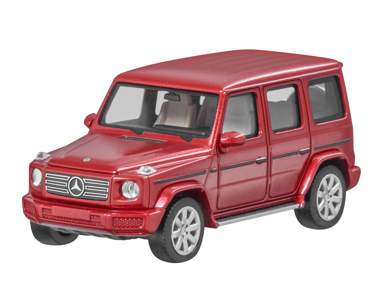 Original Mercedes-Benz G-Klasse hyazinthrot metallic 1:87 limitiert