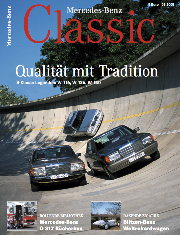 mercedes benz classic magazin 2005 3 deutsch mercedes. Black Bedroom Furniture Sets. Home Design Ideas