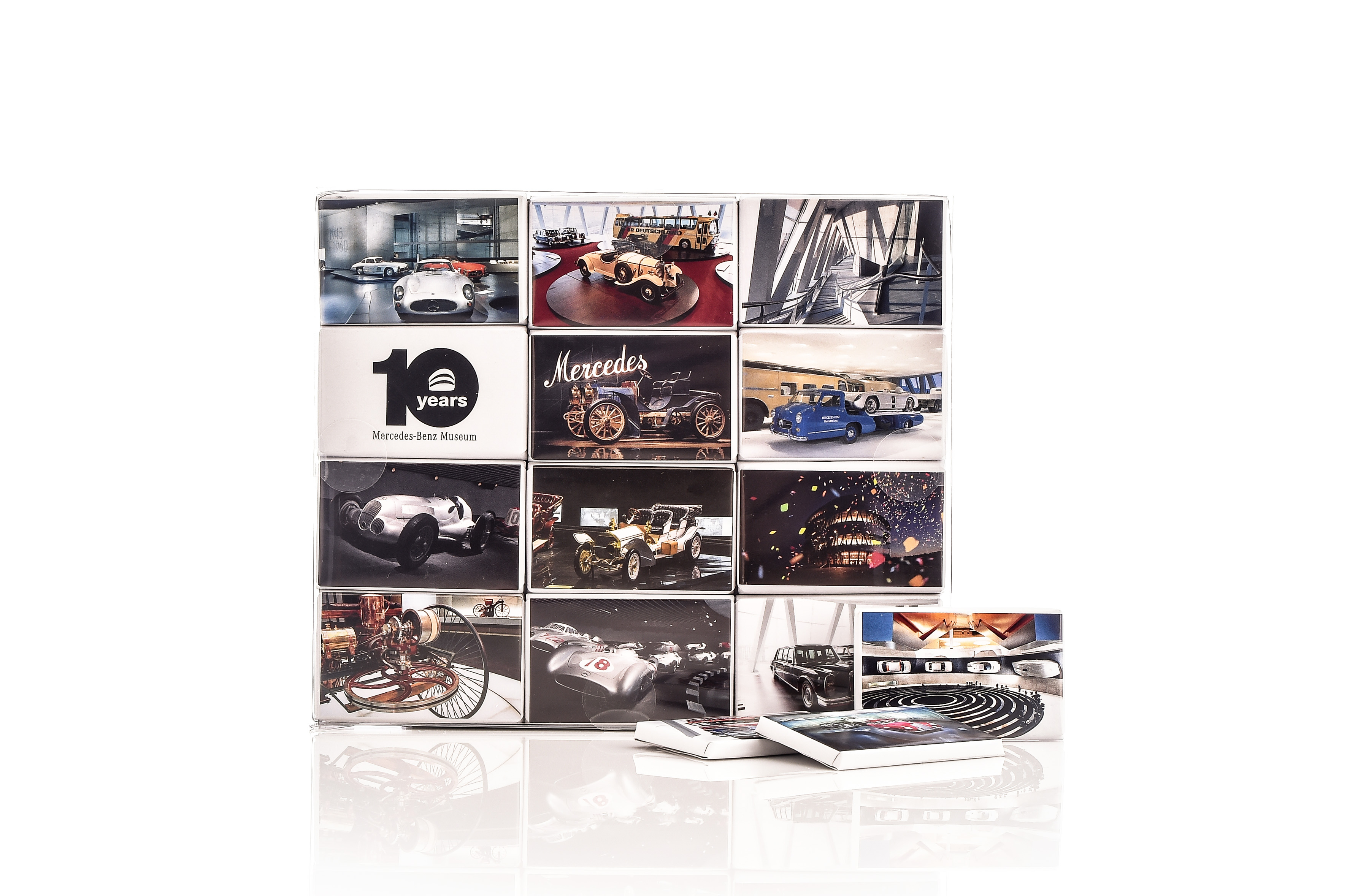 Chocolate box mercedes benz museum household for Mercedes benz accessories online store