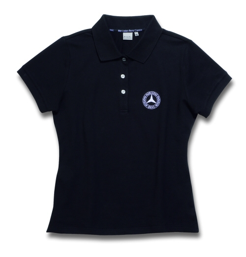 Mercedes benz classic wear damen polo shirt shirts for Mercedes benz wear