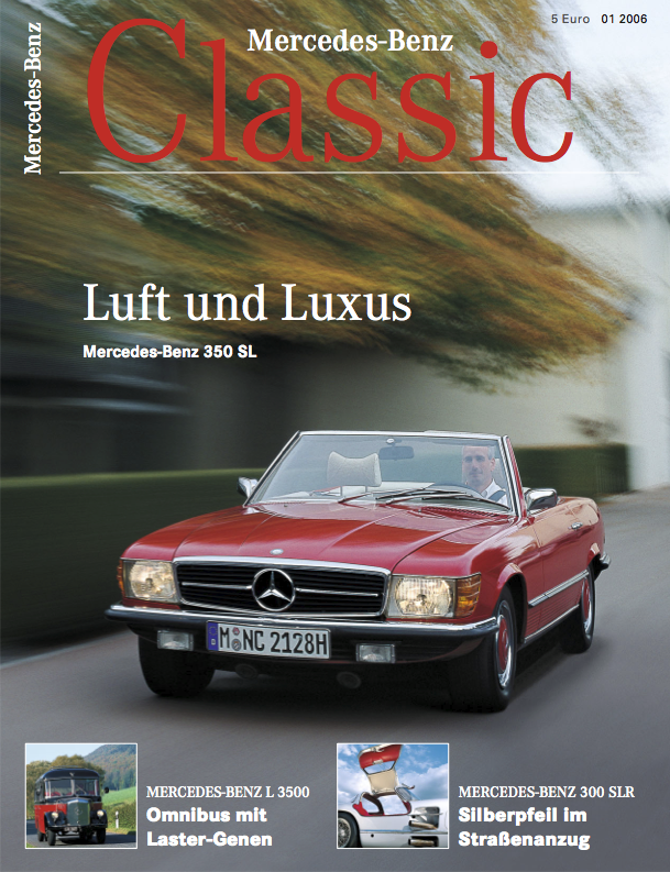 mercedes benz classic magazin 2006 1 deutsch mercedes. Black Bedroom Furniture Sets. Home Design Ideas