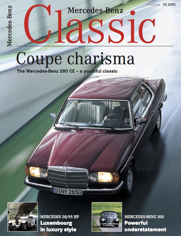 Mercedes benz classic magazine 2005 2 english mercedes for Mercedes benz classic magazine