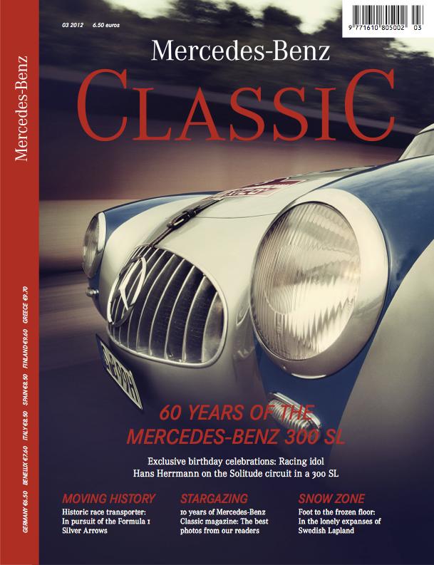 Mercedes benz classic magazine 2012 3 english mercedes for Mercedes benz classic magazine