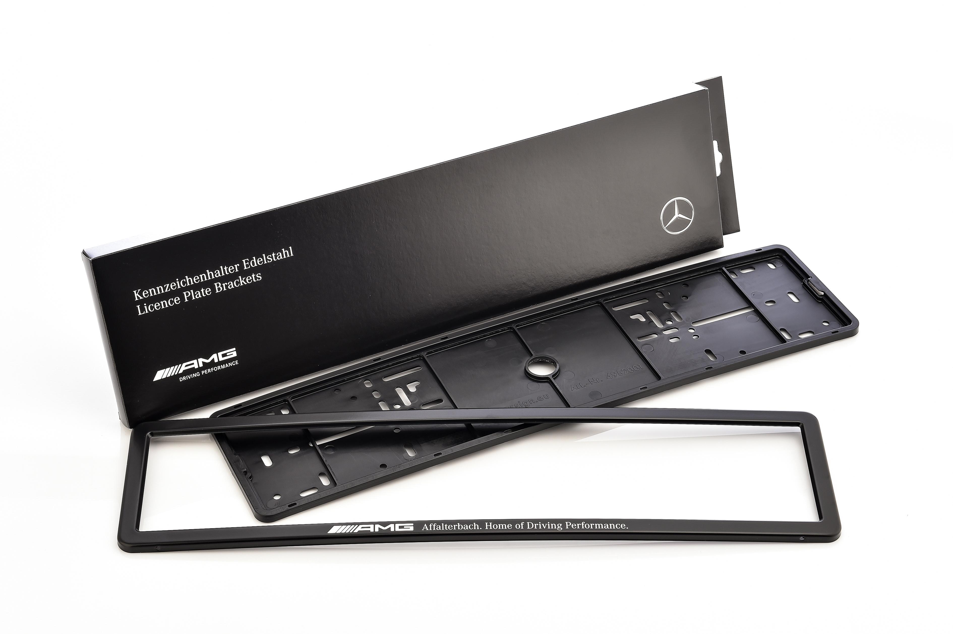 Mercedes-Benz Kennzeichenhalter AMG | AMG | Collection | Mercedes ...