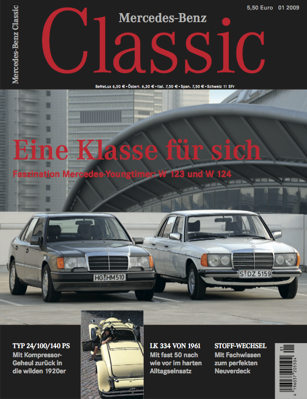 mercedes benz classic magazin 2009 1 deutsch mercedes. Black Bedroom Furniture Sets. Home Design Ideas