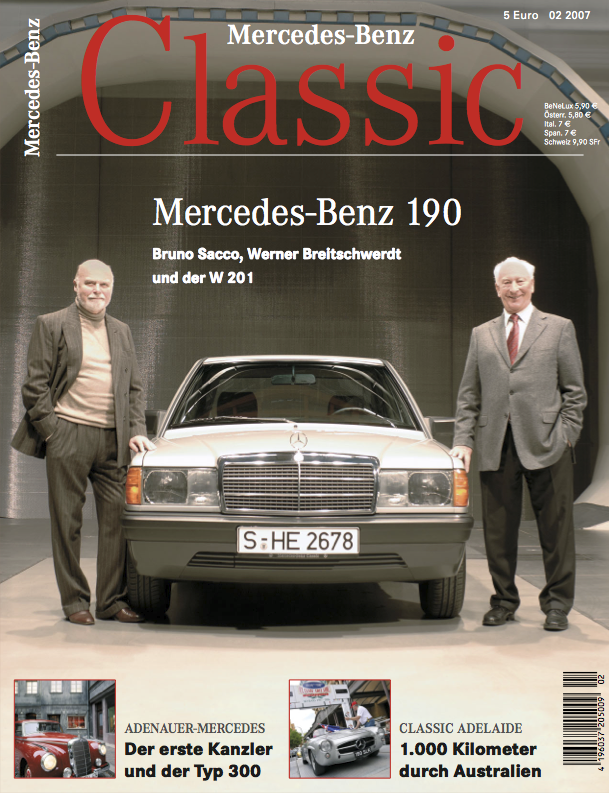 mercedes benz classic magazin 2007 2 deutsch mercedes. Black Bedroom Furniture Sets. Home Design Ideas