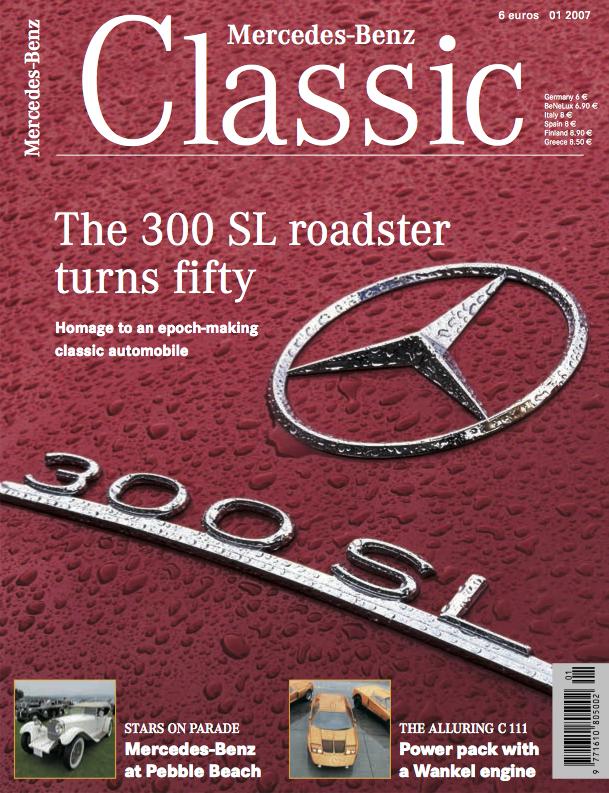 Mercedes benz classic magazine 2007 1 english mercedes for Mercedes benz classic magazine