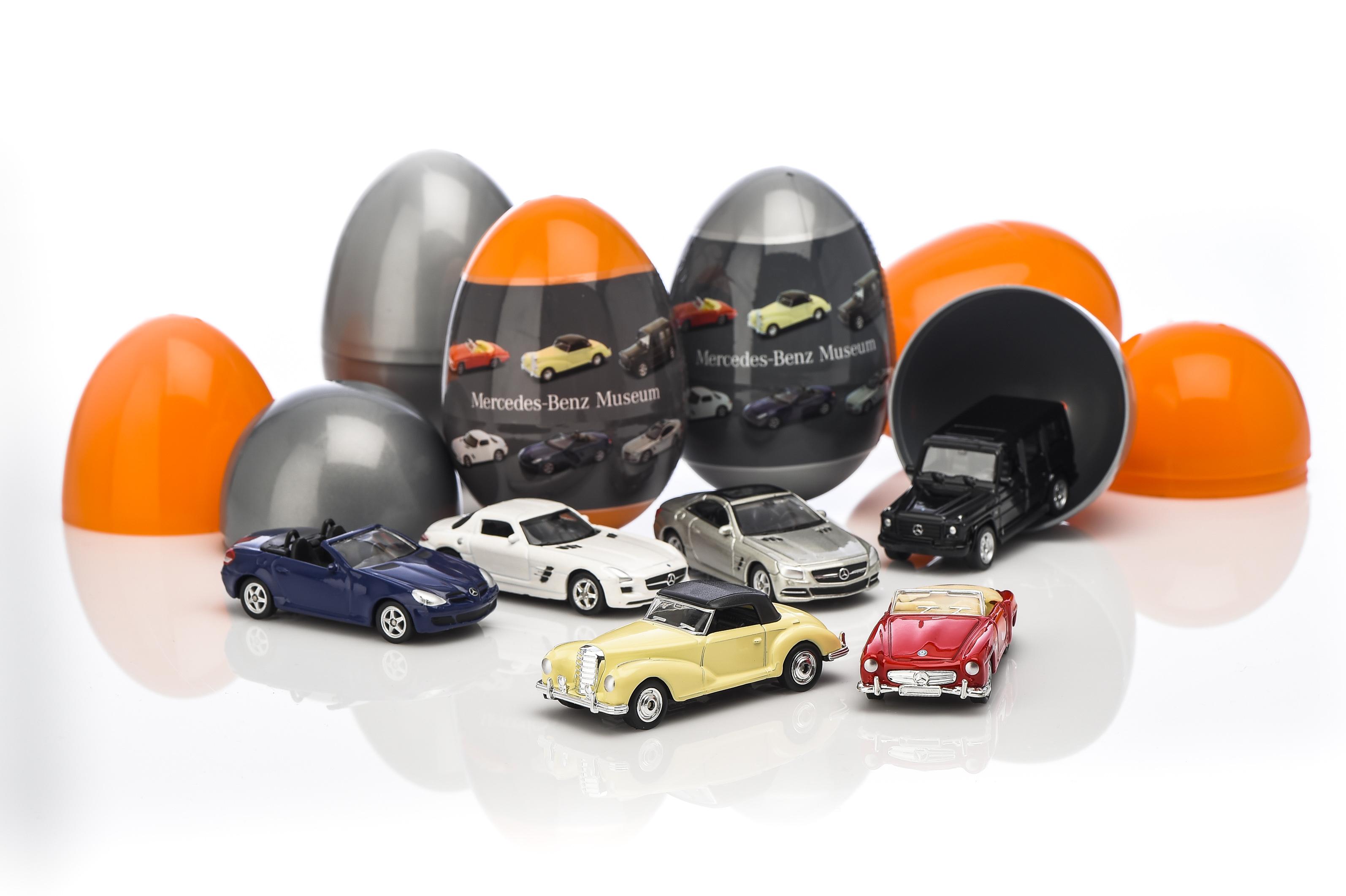 Mercedes Benz Color Car Surprise Toys Kids Collections