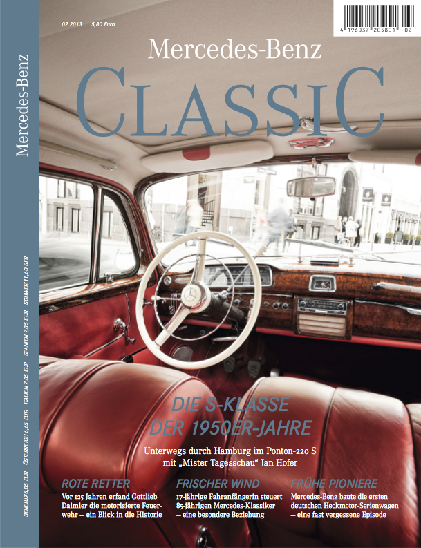 mercedes benz classic magazin 2013 2 deutsch mercedes. Black Bedroom Furniture Sets. Home Design Ideas