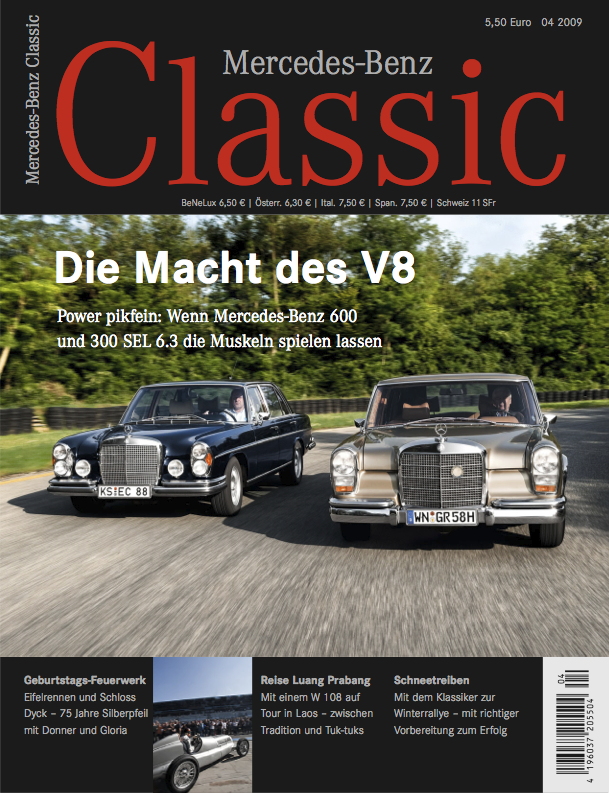 mercedes benz classic magazin 2009 4 deutsch mercedes. Black Bedroom Furniture Sets. Home Design Ideas