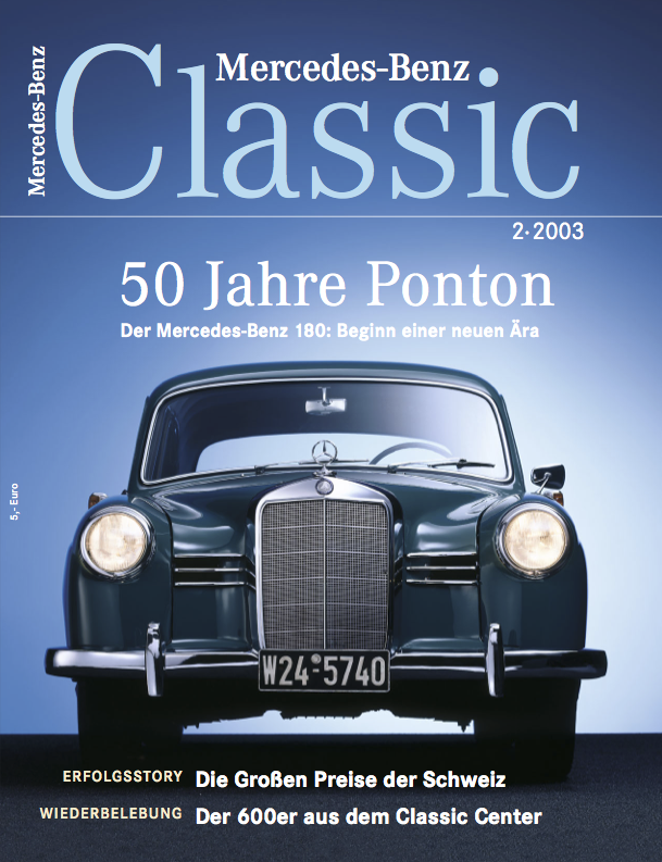 mercedes benz classic magazin 2 2003 deutsch mercedes. Black Bedroom Furniture Sets. Home Design Ideas