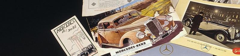reprints car brochures literature media mercedes benz classic store. Black Bedroom Furniture Sets. Home Design Ideas