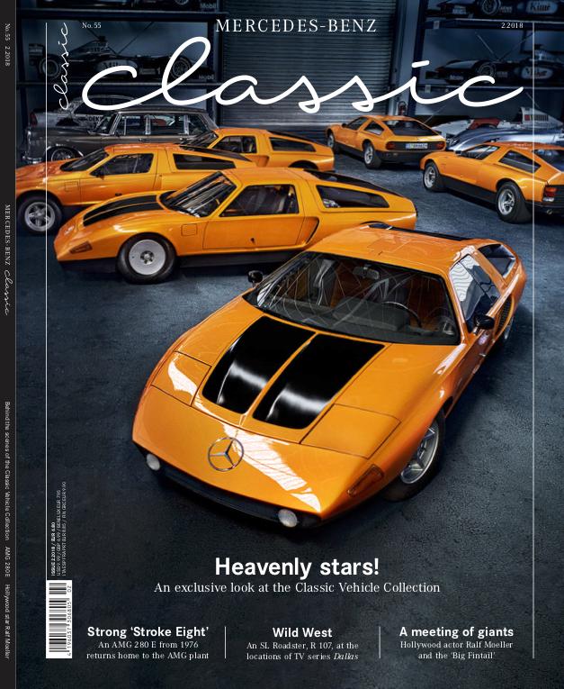 mercedes-benz classic magazine 2018/2 (english) | mercedes-benz