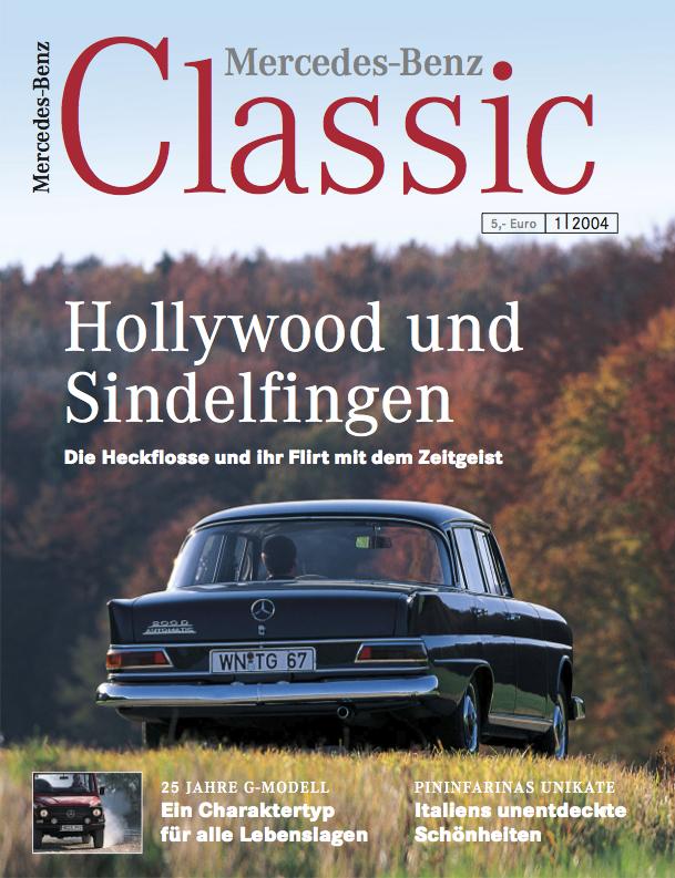 Mercedes benz classic magazin 1 2004 deutsch mercedes for Mercedes benz classic magazine