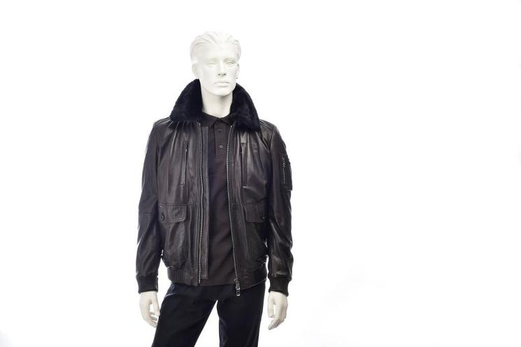 Jackets men clothing mercedes benz classic store for Mercedes benz leather jacket