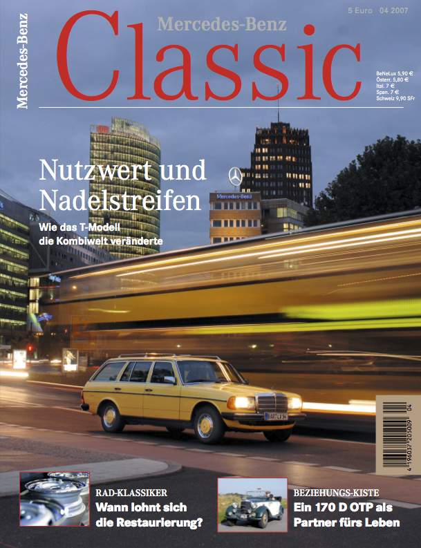 mercedes benz classic magazin 2007 4 deutsch mercedes. Black Bedroom Furniture Sets. Home Design Ideas