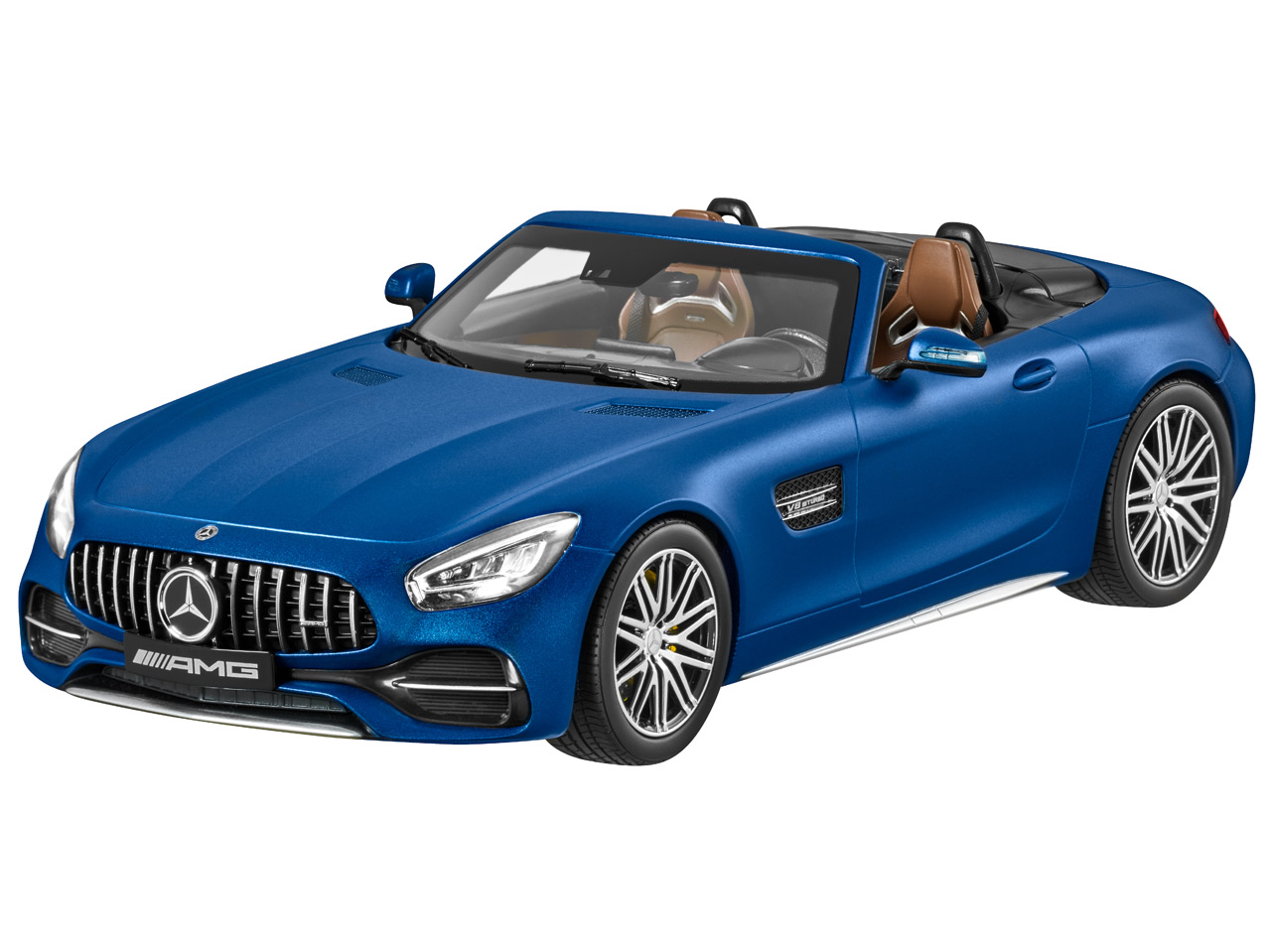 Mercedes Amg Gt C Roadster 2019 Facelift 1 18 In Blue B66960563 Mercedes Benz Classic Store