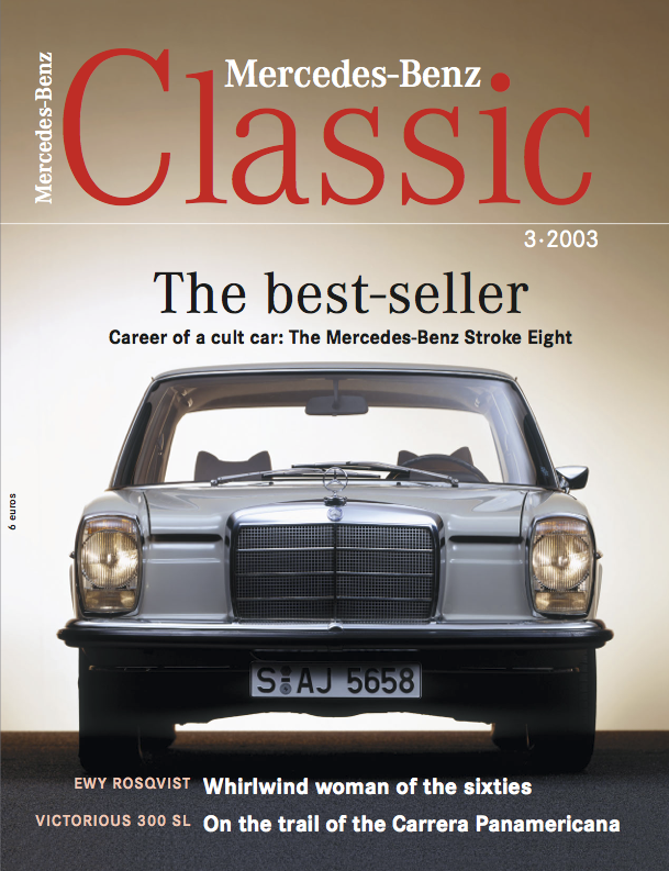 mercedes benz classic magazine 2003 3 english mercedes. Black Bedroom Furniture Sets. Home Design Ideas