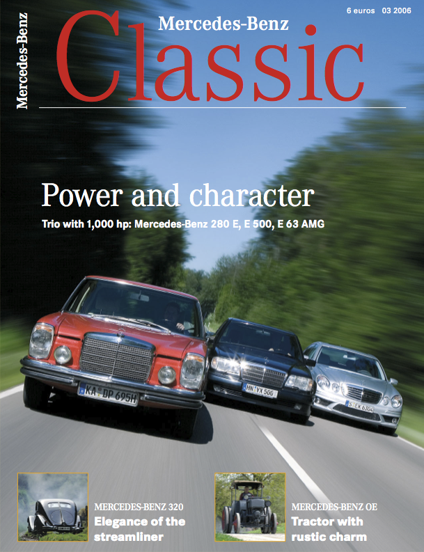 mercedes benz classic magazine 2006 3 english mercedes. Black Bedroom Furniture Sets. Home Design Ideas
